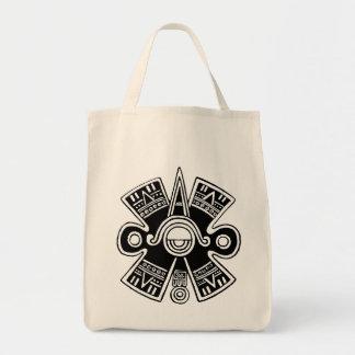 Universo azteca bolsa tela para la compra