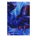 Universo azul poster