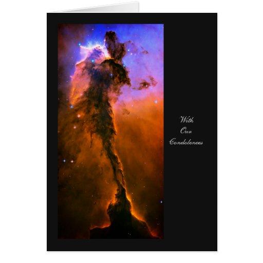 Universo de la creación - con nuestras tarjeta de felicitación