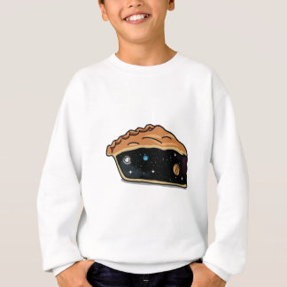Universo de la empanada de Apple Sudadera