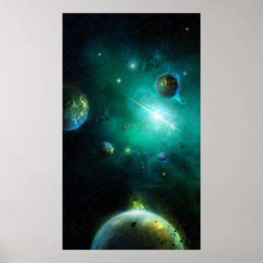 Universo de la franja posters