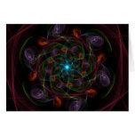 Universo de la imaginación tarjetón