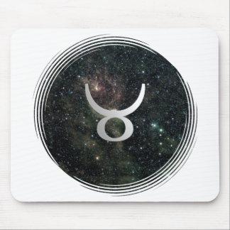 Universo de la muestra de la estrella del zodiaco  alfombrillas de raton