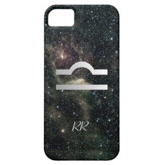 Universo de la muestra de la estrella del zodiaco  iPhone 5 protector