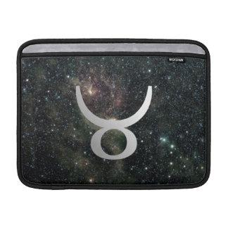 Universo de la muestra de la estrella del zodiaco fundas para macbook air