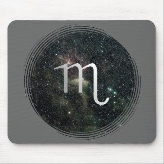 Universo de la muestra de la estrella del zodiaco  mousepad
