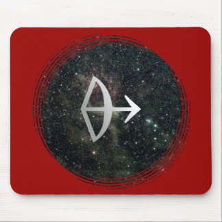 Universo de la muestra de la estrella del zodiaco  mousepads