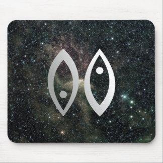 Universo de la muestra de la estrella del zodiaco  tapete de ratones