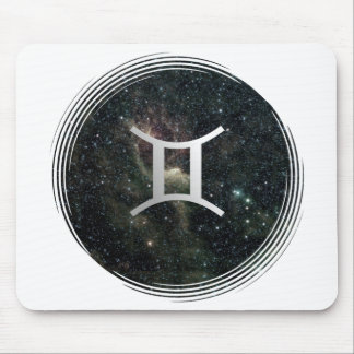 Universo de la muestra de la estrella del zodiaco  tapetes de ratón