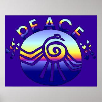 Universo de la paz posters