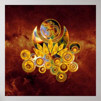 Universo de OM Lotus el | del fuego Impresiones
