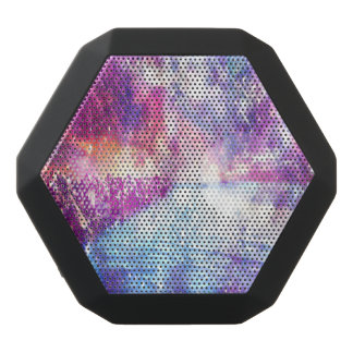 Universo del arco iris de Venecia Altavoces Bluetooth Negros Boombot REX