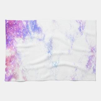 Universo del arco iris toallas de cocina
