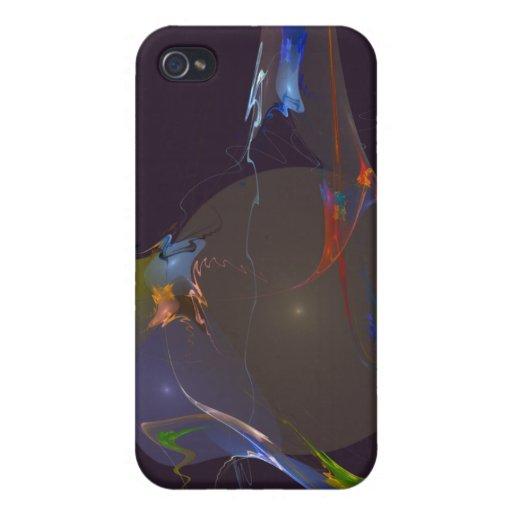 UNIVERSO del DIBUJO ANIMADO, fondo púrpura iPhone 4 Funda