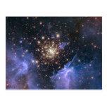 Universo del racimo de Starburst Postal