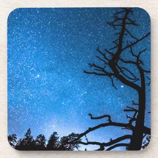 Universo estelar celestial posavasos