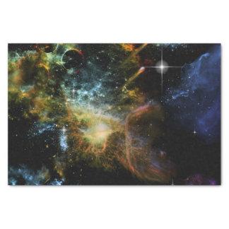 Universo impresionante papel de seda pequeño