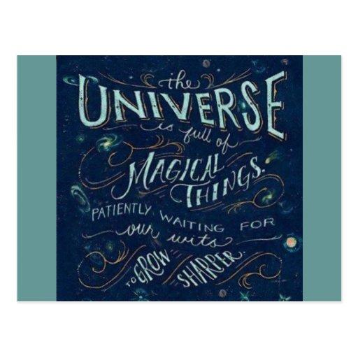 Universo mágico postal