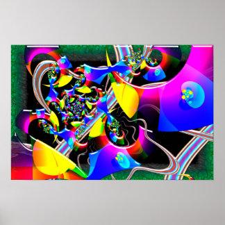 Universo óptico póster