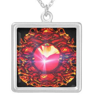 Universo raro - colgante del rojo de Raycore
