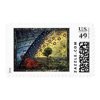 Universum Postage Stamp
