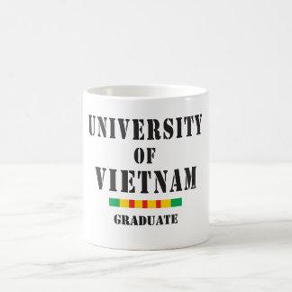 Univesity of Vietnam graduate stencil Mug