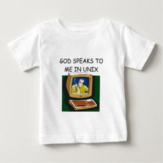 unix computer geek baby T-Shirt