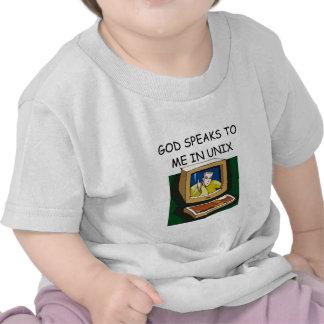 unix computer geek shirts