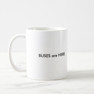 UNIX es VIDA, AUTOBUSES está AQUÍ Tazas De Café