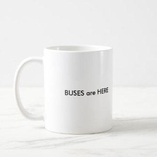 UNIX is LIFE, BUSES are HERE Classic White Coffee Mug