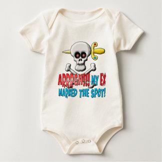 Unjolly Roger Baby Bodysuit
