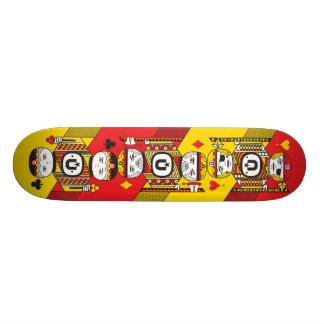 UNKL UniPoker deck Skate Decks