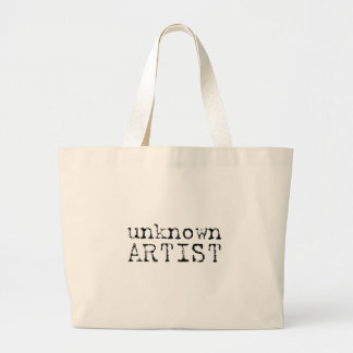 unknown artist large tote bag