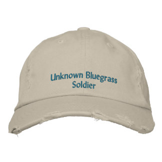 Unknown Bluegrass Soldier Embroidered Baseball Cap