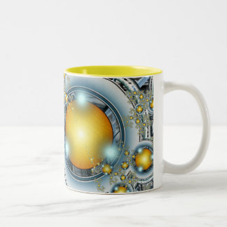 Unknown british crop circles Two-Tone coffee mug