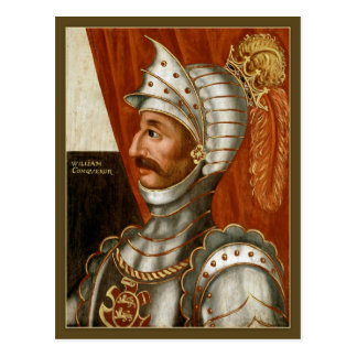 Unknown British William the Conqueror c. 1618-20 Postcard