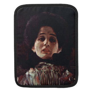 Unknown by Gustav Klimt iPad Sleeves