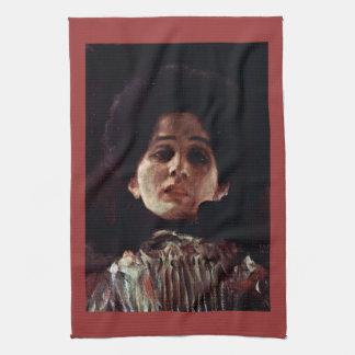 Unknown by Gustav Klimt Hand Towel