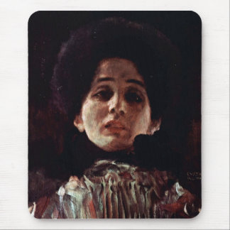 Unknown by Gustav Klimt Mouse Pads