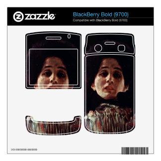 Unknown by Gustav Klimt BlackBerry Bold Decal