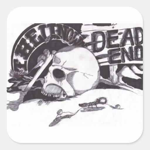 Unknown - Dead End Sticker