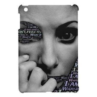 unknown face iPad mini cover