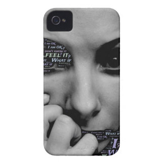 unknown face iPhone 4 Case-Mate case