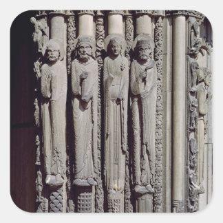 Unknown figure, King Solomon Square Sticker