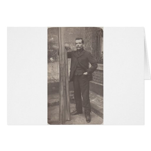 Unknown Frenchman 4 Greeting Cards