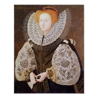 Unknown Girl, aged 20, 1587 Poster