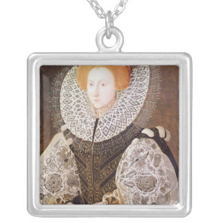 Unknown Girl, aged 20, 1587 Silver Plated Necklace