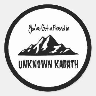 Unknown Kadath Classic Round Sticker