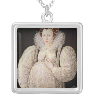 Unknown Lady, c.1595-1600 Personalized Necklace