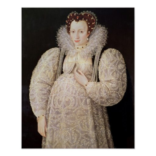 Unknown Lady, c.1595-1600 Poster